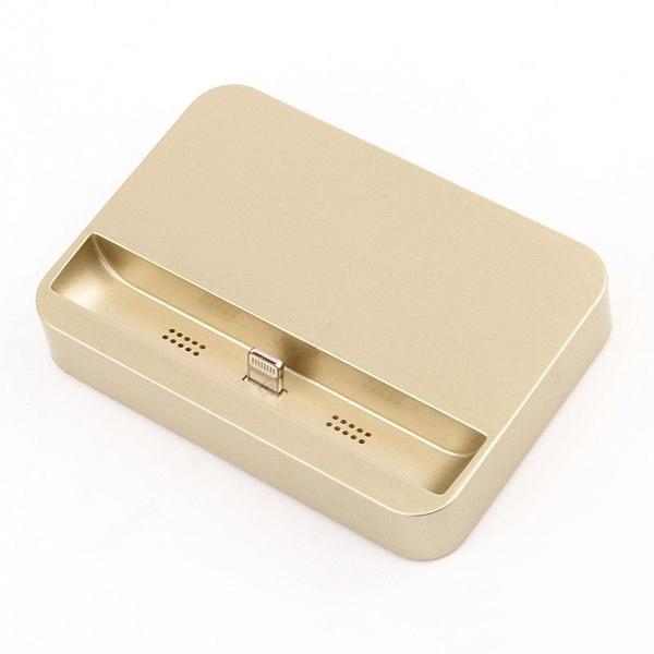 Dokovací stanice / stojánek BASIC pro Apple iPhone - Zlatá