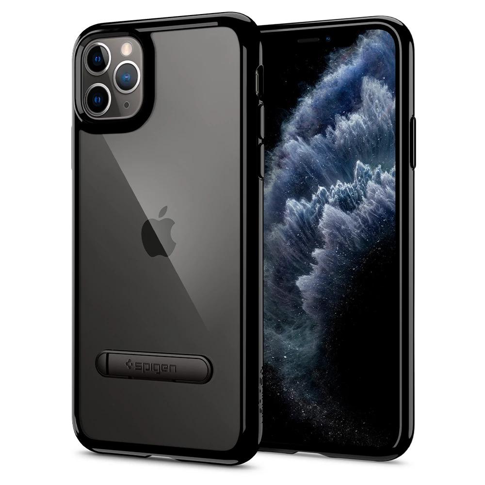 Pouzdro Spigen Ultra Hybrid S iPhone 11 Pro - Jet Black
