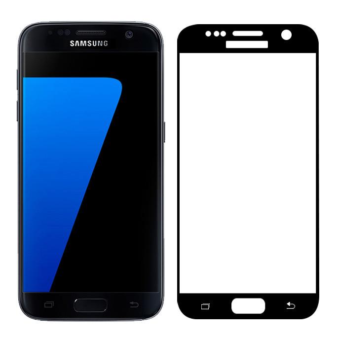 Tvrzené sklo FullCover na celý displej pro Samsung Galaxy S7 G930