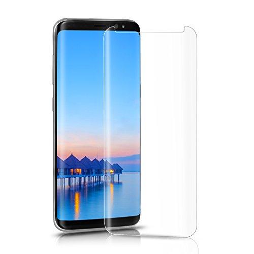3D Ochranné sklo CASE FRIENDLY na celý displej kompatibilní s kryty / obaly / pouzdry pro Samsung Galaxy S8 - Čiré