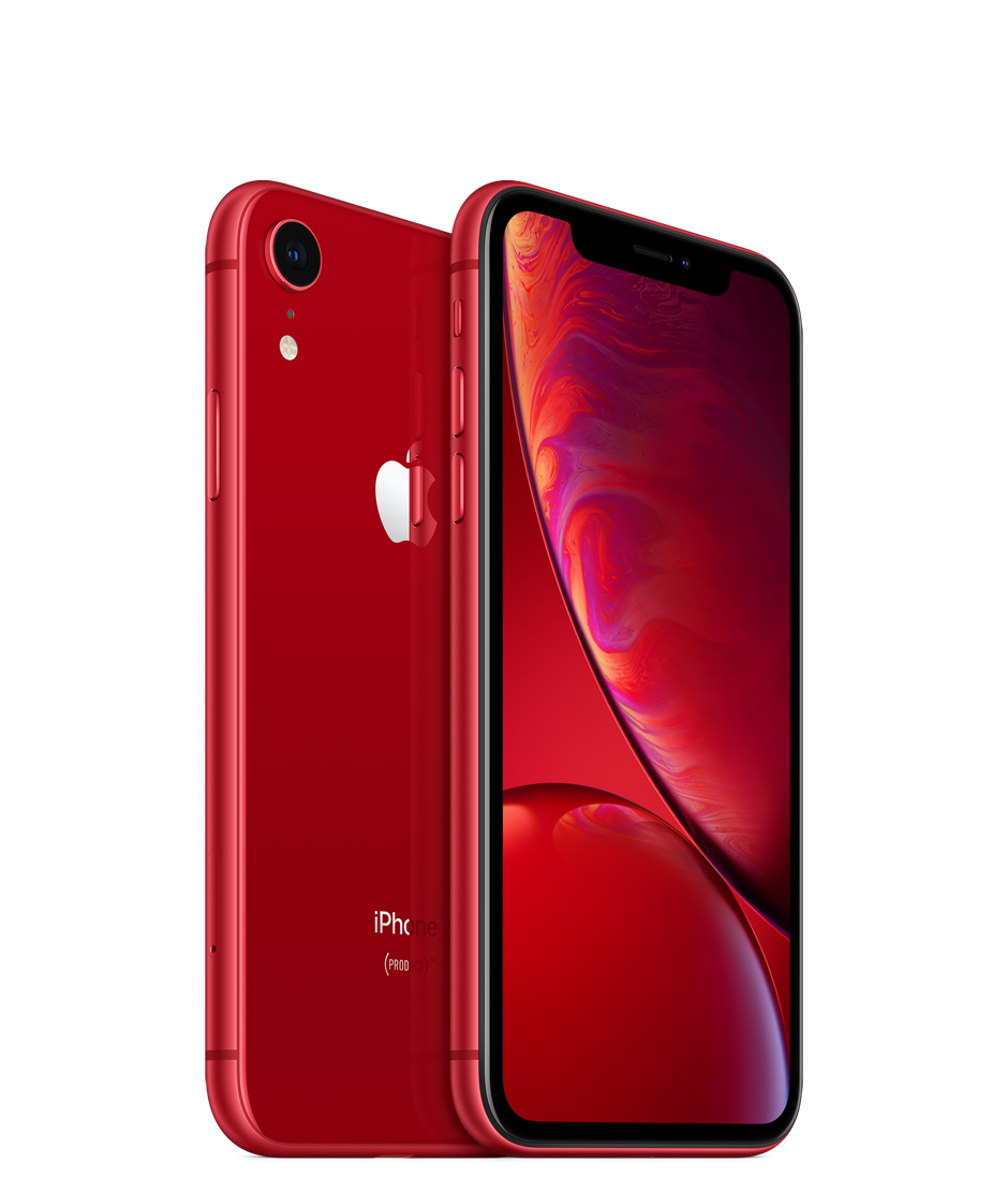 Apple iPhone XR - 64GB, červená