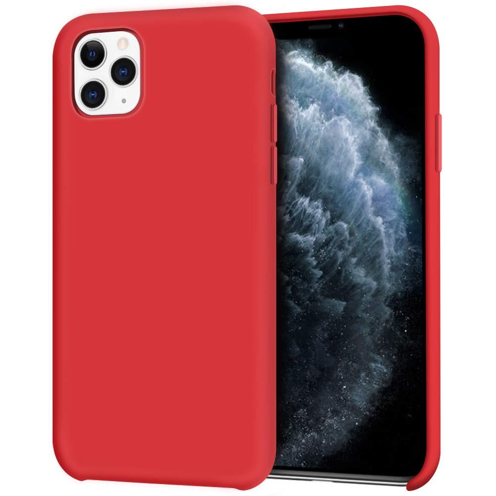 Pouzdro iMore Silicone Case iPhone 11 Pro - Červený