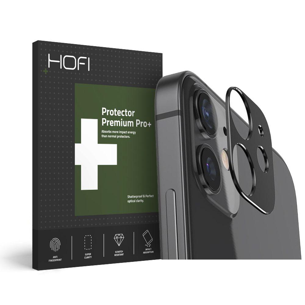 Pouzdro Hofi Metal Styling Camera Iphone 12 Černé