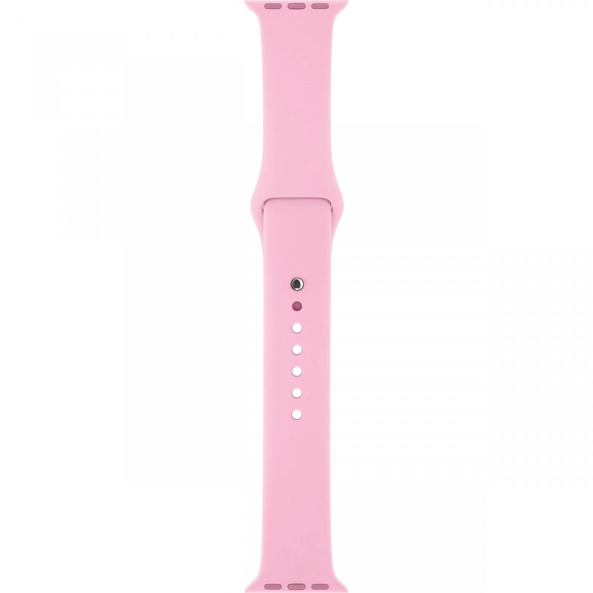 Řemínek SmoothBand pro Apple Watch Series 3/2/1 42mm - Světle růžový