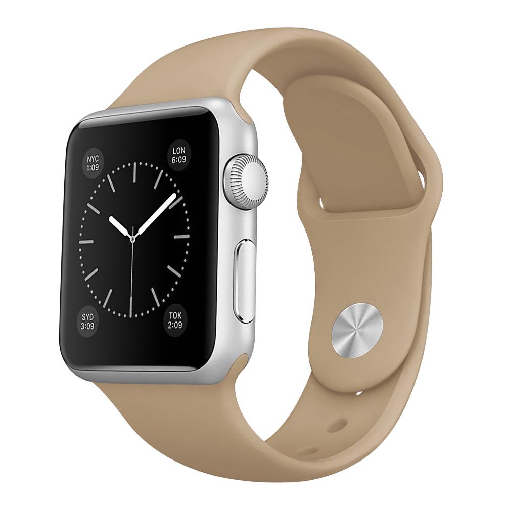 Řemínek SmoothBand pro Apple Watch Series 3/2/1 42mm - Béžový