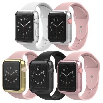 Silikonový kryt RING na Apple Watch 42mm / 38mm Series 1, 2, 3