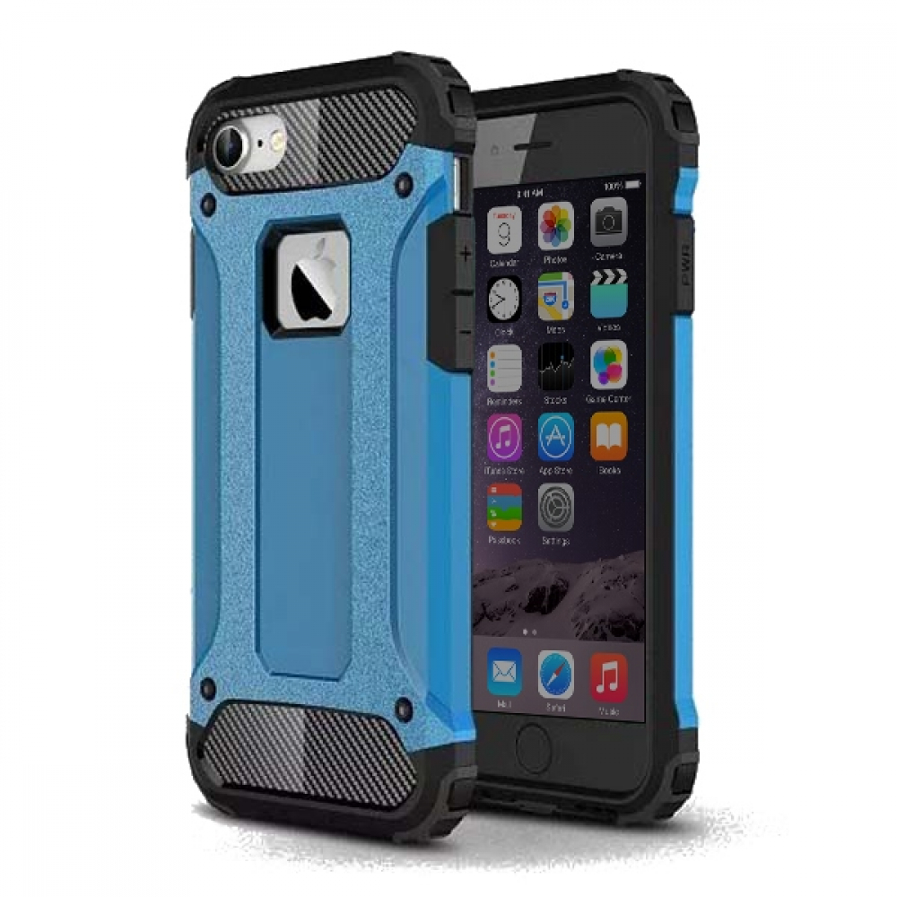 Pouzdro Forcell Armor Case Apple iPhone 8 / iPhone 7 - Modré