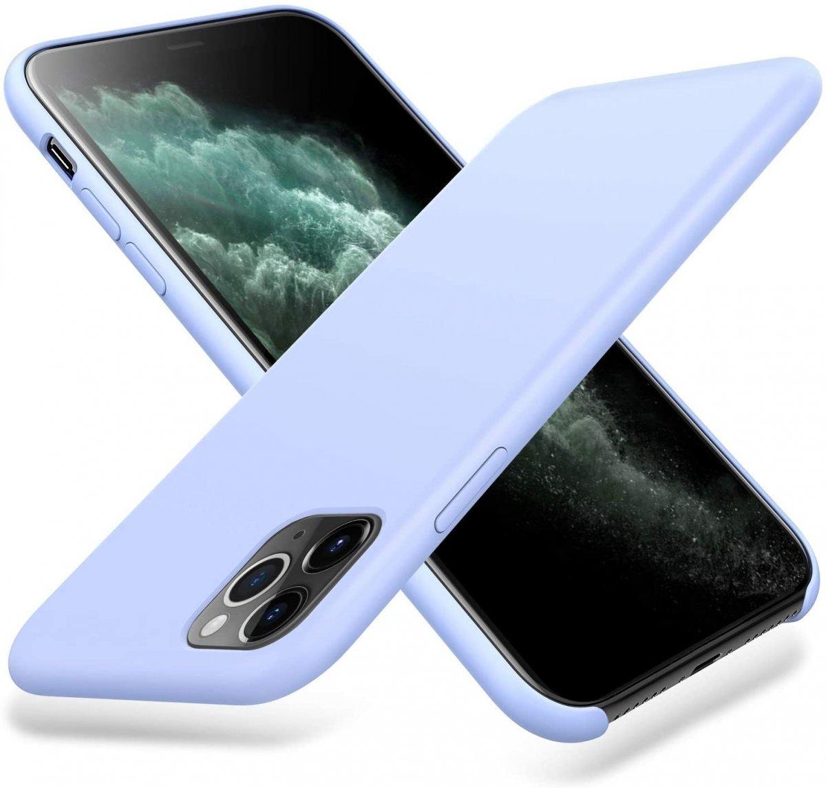 Pouzdro iMore Silicone Case iPhone 11 Pro - Šeříkový