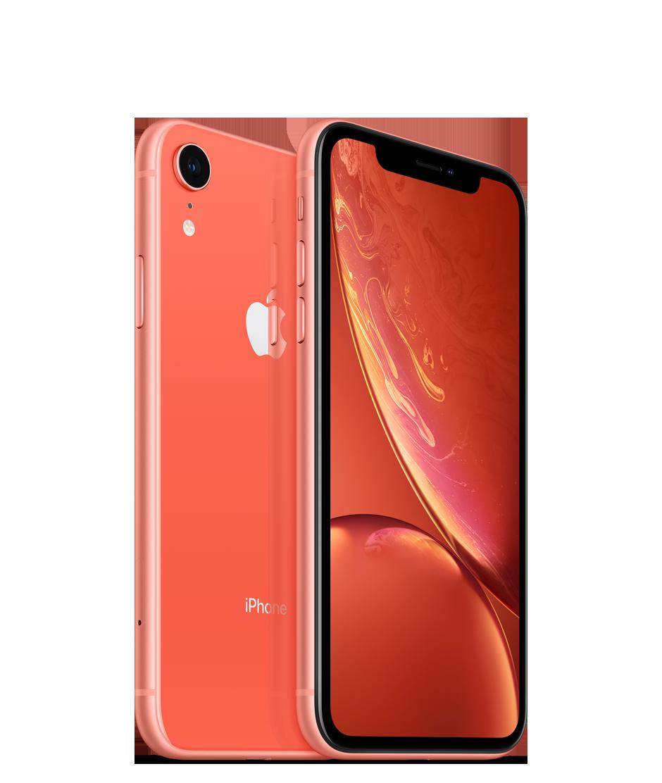 Apple iPhone XR - 64GB, korálově červená