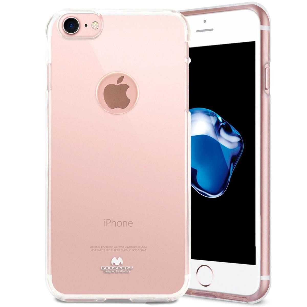 Pouzdro Mercury Jelly Apple iPhone 7 / 8 čiré