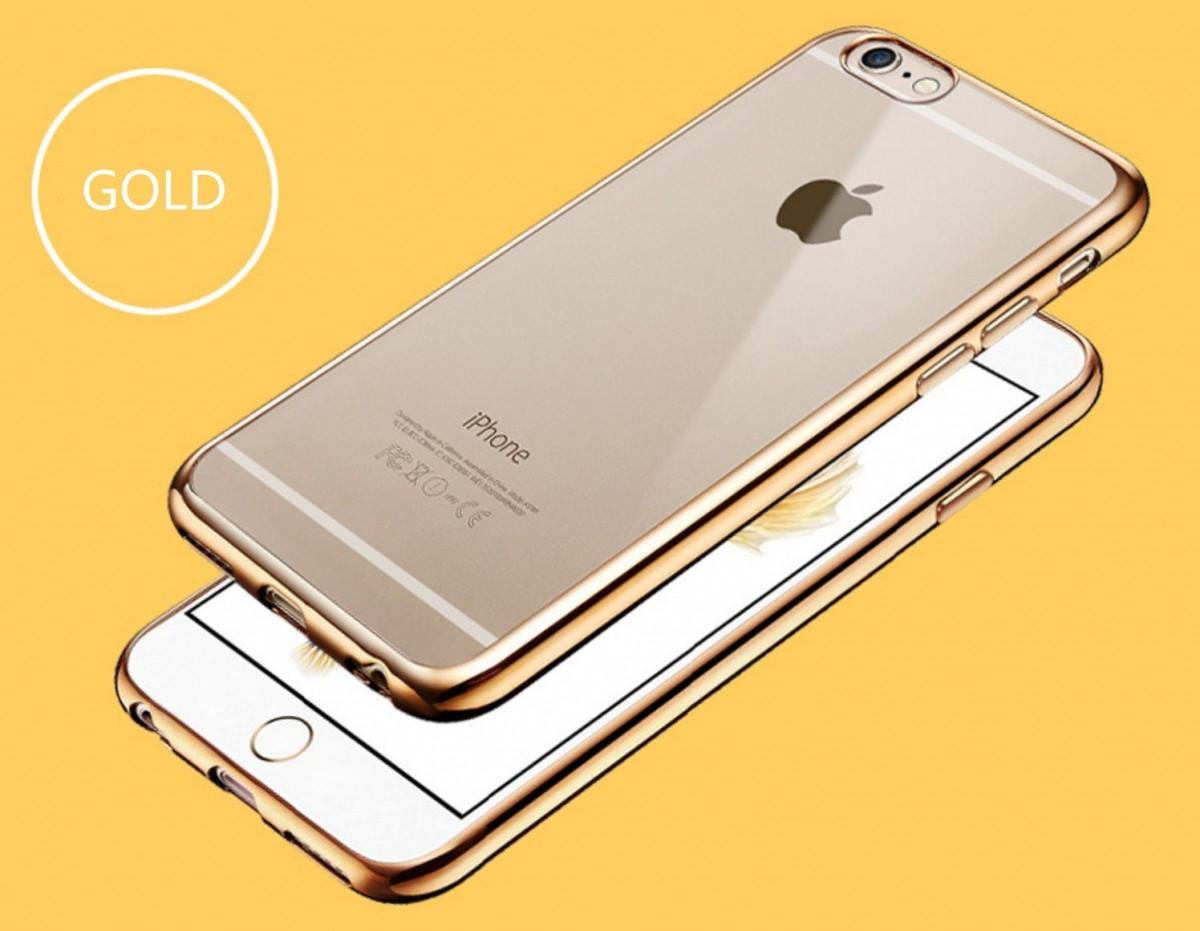Elegantní obal / kryt RING pro iPhone 6s / 6 - Zlatý (gold)