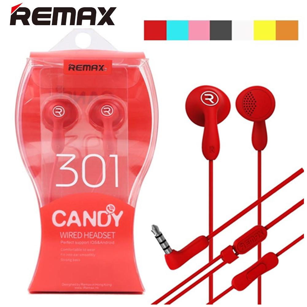 Sluchátka REMAX CANDY RM-301 s mikrofonem