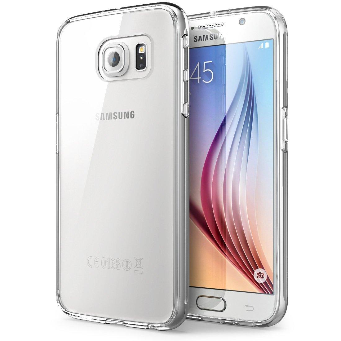 Silikonový obal / kryt Goospery Mercury pro Samsung Galaxy S6 (čirý)