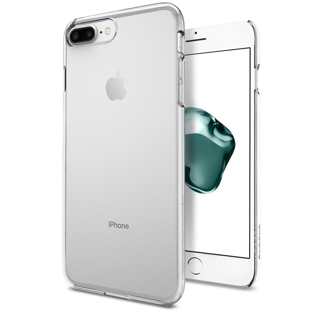 Ochranný obal SPIGEN Thin Fit pro Apple iPhone 8 Plus / 7 Plus - Crystal Clear