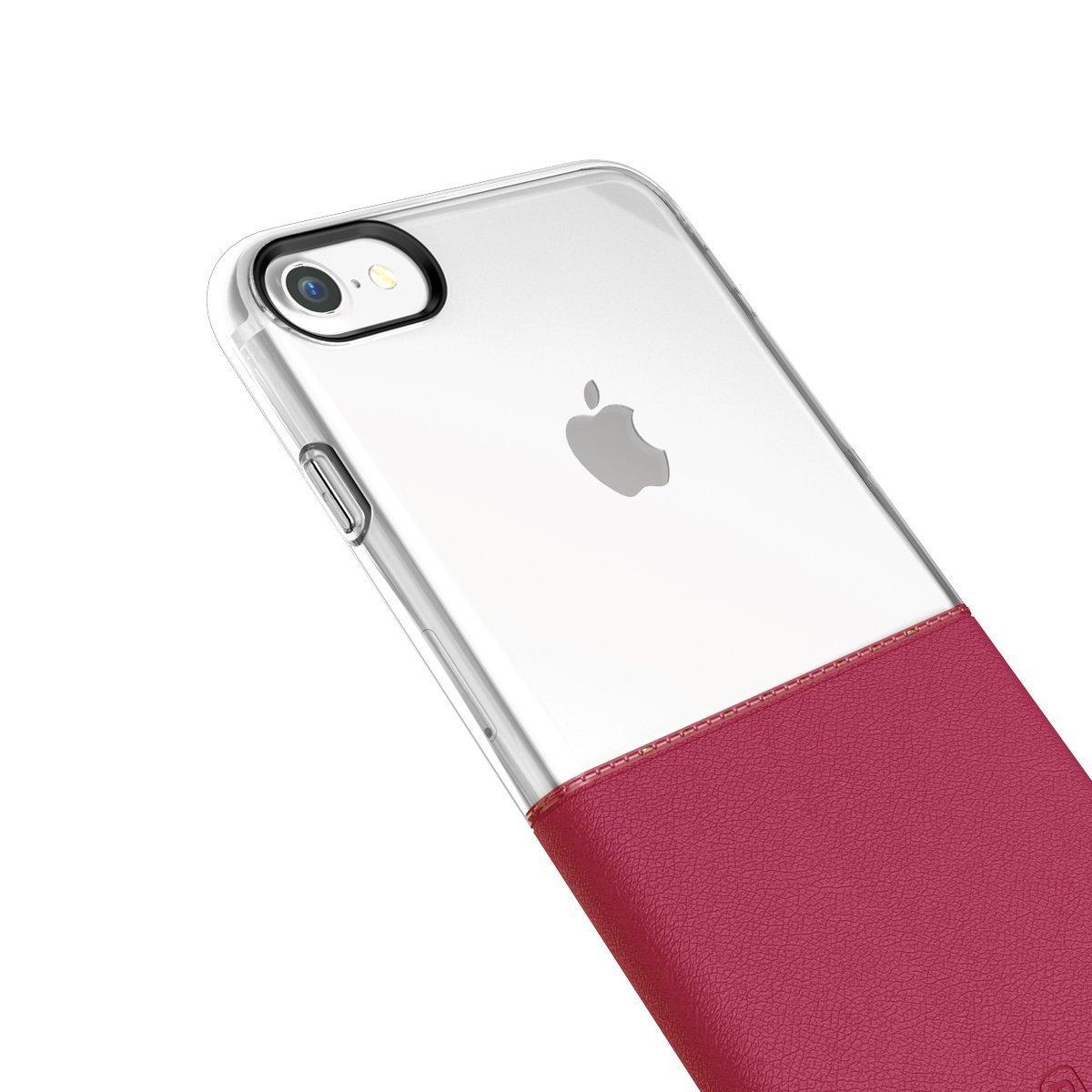 Elegantní kryty DOUBLE pro mobily Apple iPhone - pro iPhone 6s/6 (vínově červený)