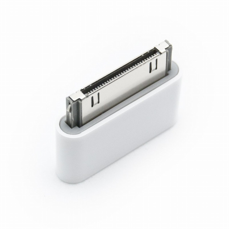 iMore nabíjecí a datový adaptér z micro USB na Apple 30 pin bílý