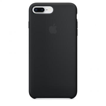 Originální silikonové pouzdro Apple iPhone 8 Plus / 7 Plus - Černé