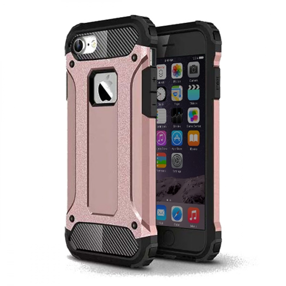 Pouzdro Forcell Armor Case Apple iPhone 8 / iPhone 7 - Růžové