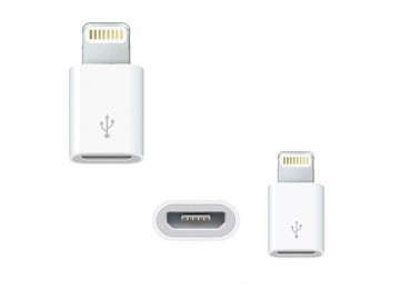 Adaptér / Redukce z Micro USB na Lightning 8 pin