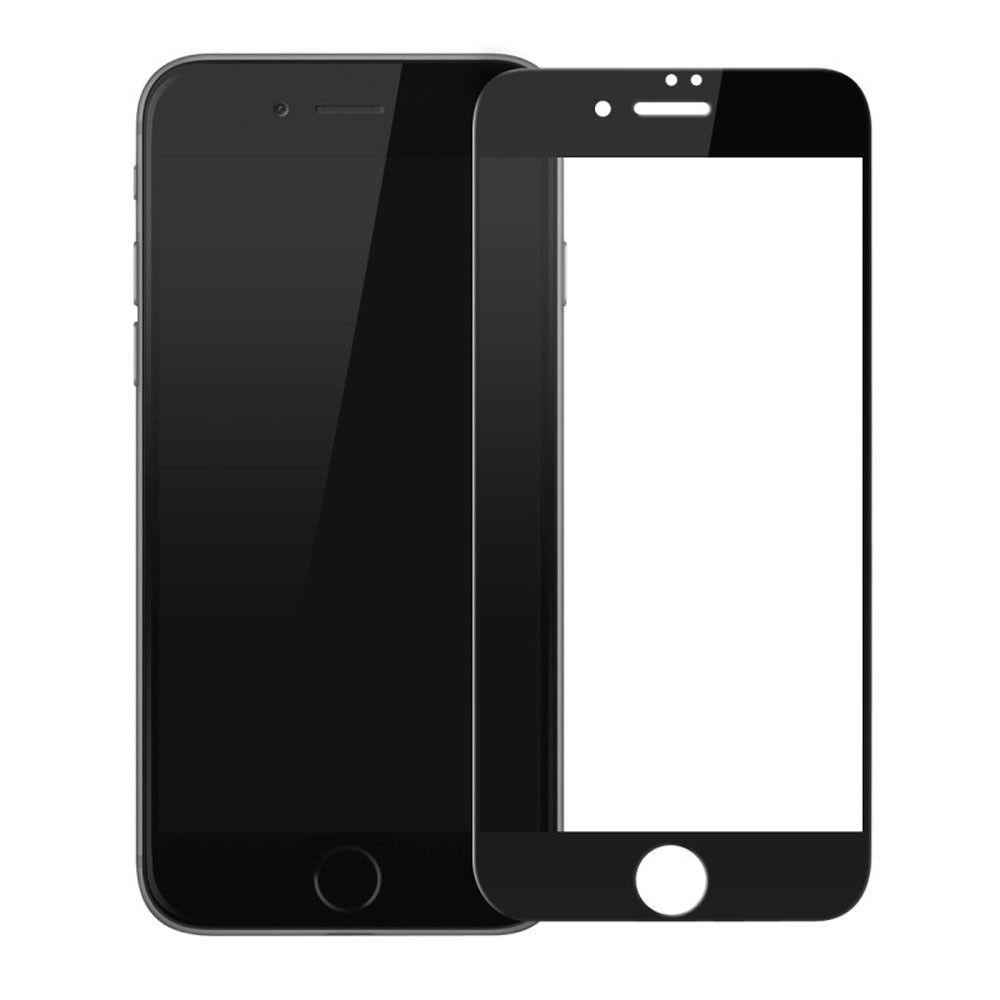 Tvrzené sklo FullCover na Apple iPhone 8 / iPhone 7 - Černé