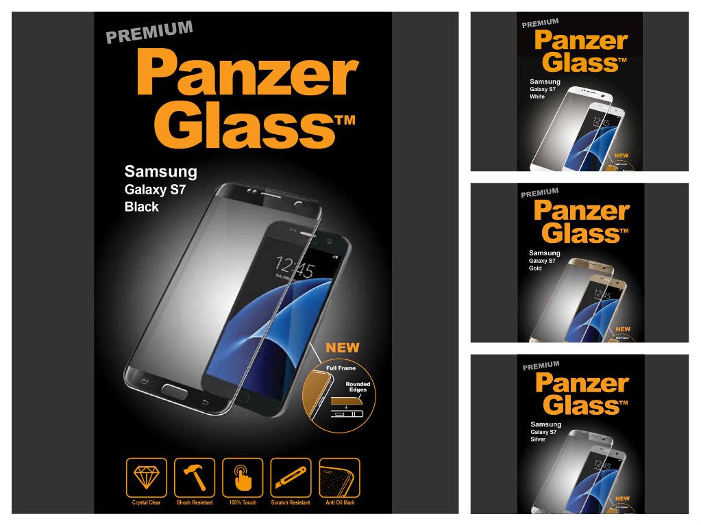 Ochranné sklo PanzerGlass PREMIUM Full Frame na Samsung Galaxy S7
