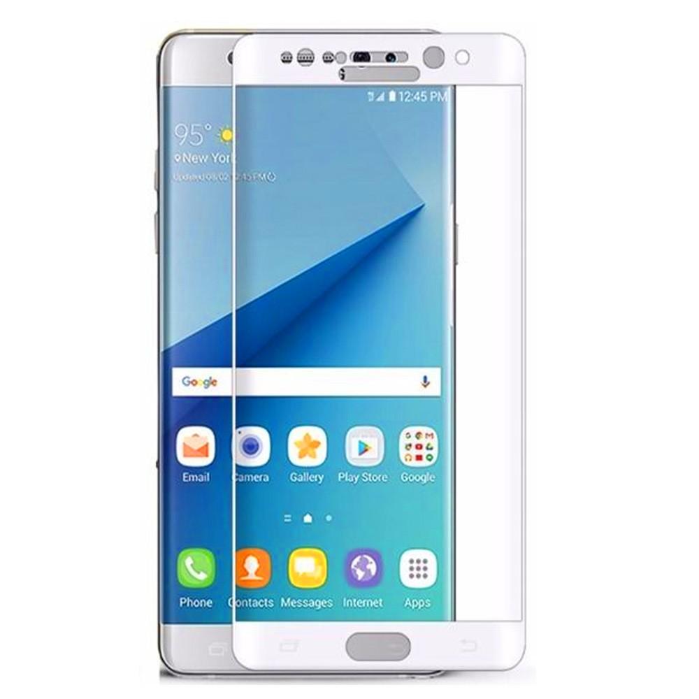 3D tvrzené sklo 9H pro Samsung Galaxy Note 7 - Bílé (white)