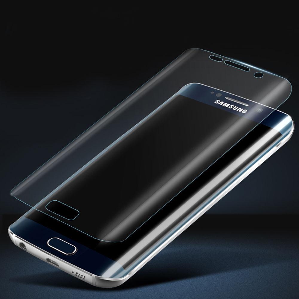 3D Tvrzené ochranné sklo 9H na celý displej pro Samsung Galaxy S6 Edge - Čiré
