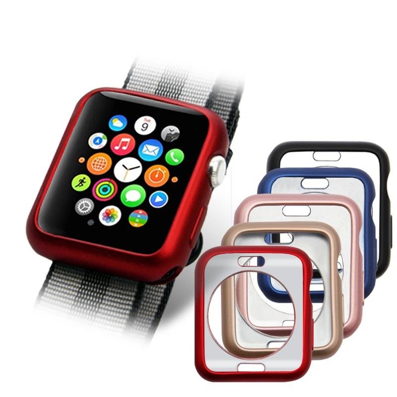 Silikonový obal Jelly Metal na Apple Watch Series 3/2/1 (38mm)