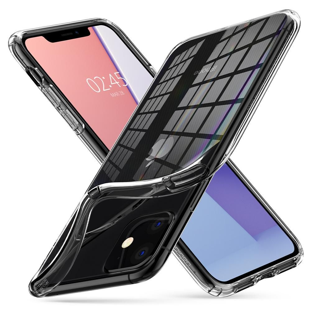 Pouzdro Spigen Liquid Crystal Apple iPhone 11 - Crystal Clear