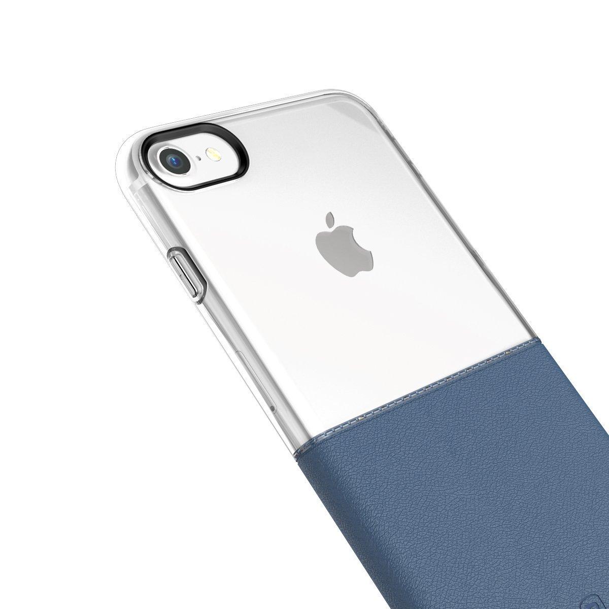 Elegantní kryty DOUBLE pro mobily Apple iPhone - pro iPhone 7 (modrý)