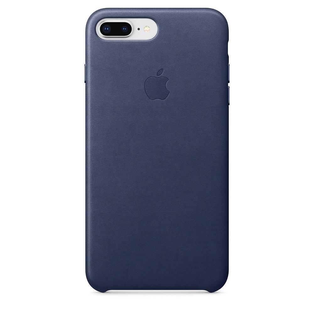 Pouzdro Apple iPhone 8 Plus / 7 Plus Leather Case - Midnight modré