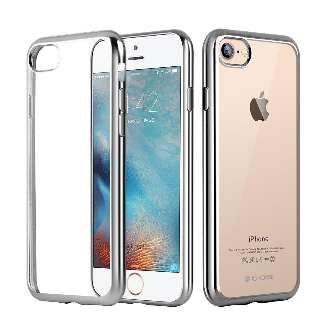 Elegantní obal / kryt RING pro iPhone 7 (silver)
