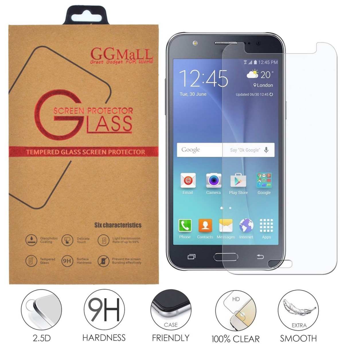 Tvrzené sklo na displej pro Samsung Galaxy J7