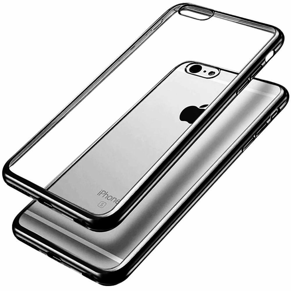 Elegantní obal / kryt RING pro iPhone 6s / 6 - Černý (black)