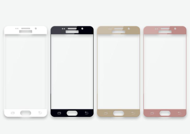 3D ochranné sklo Carbon Fiber na displej Samsung Galaxy A5 (2016)