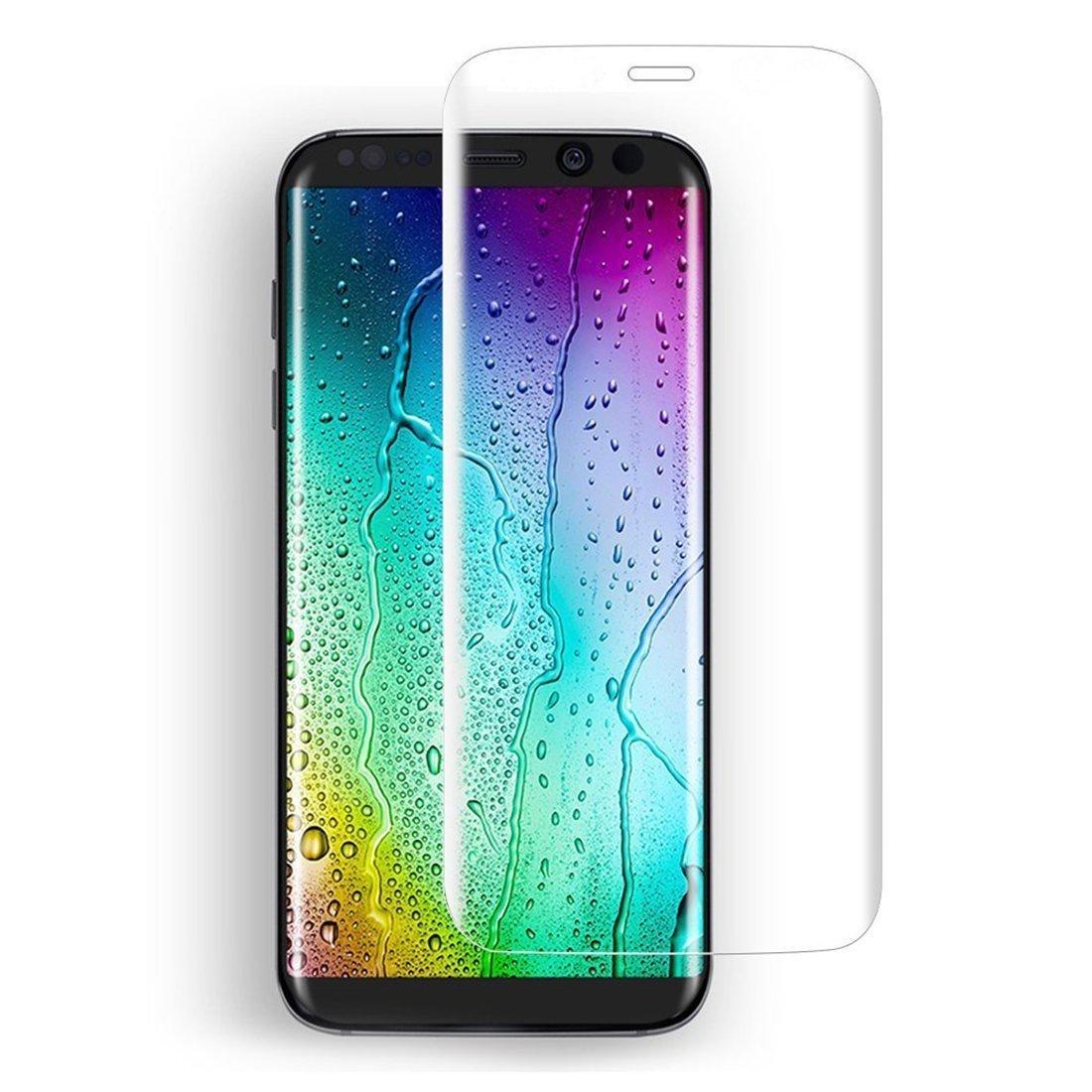3D Tvrzené sklo 9H na celý displej pro Galaxy S8 Plus (S8+) - Čiré (clear)
