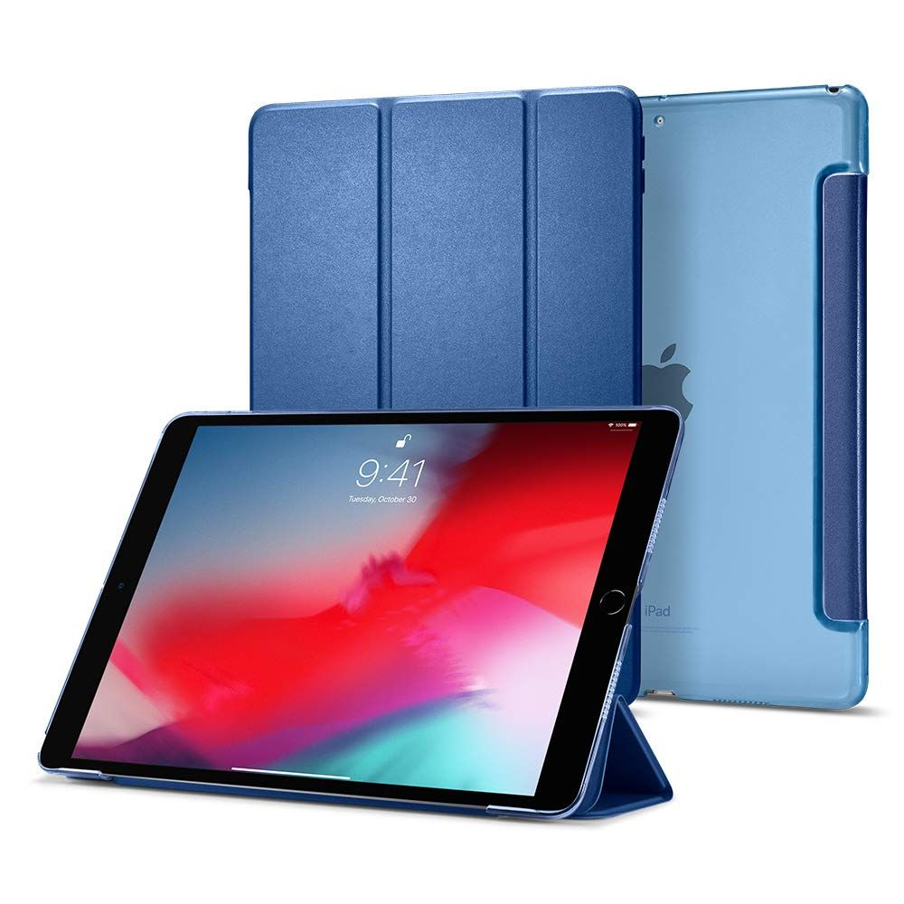 Spigen Smart Fold Case Apple iPad Air (2019) - Modré