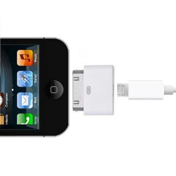 Adaptér / Redukce z Micro USB na Apple 30 pin