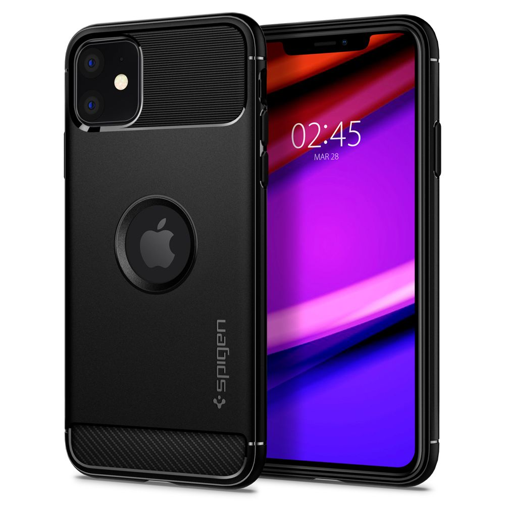 Pouzdro Spigen Rugged Armor Apple iPhone 11