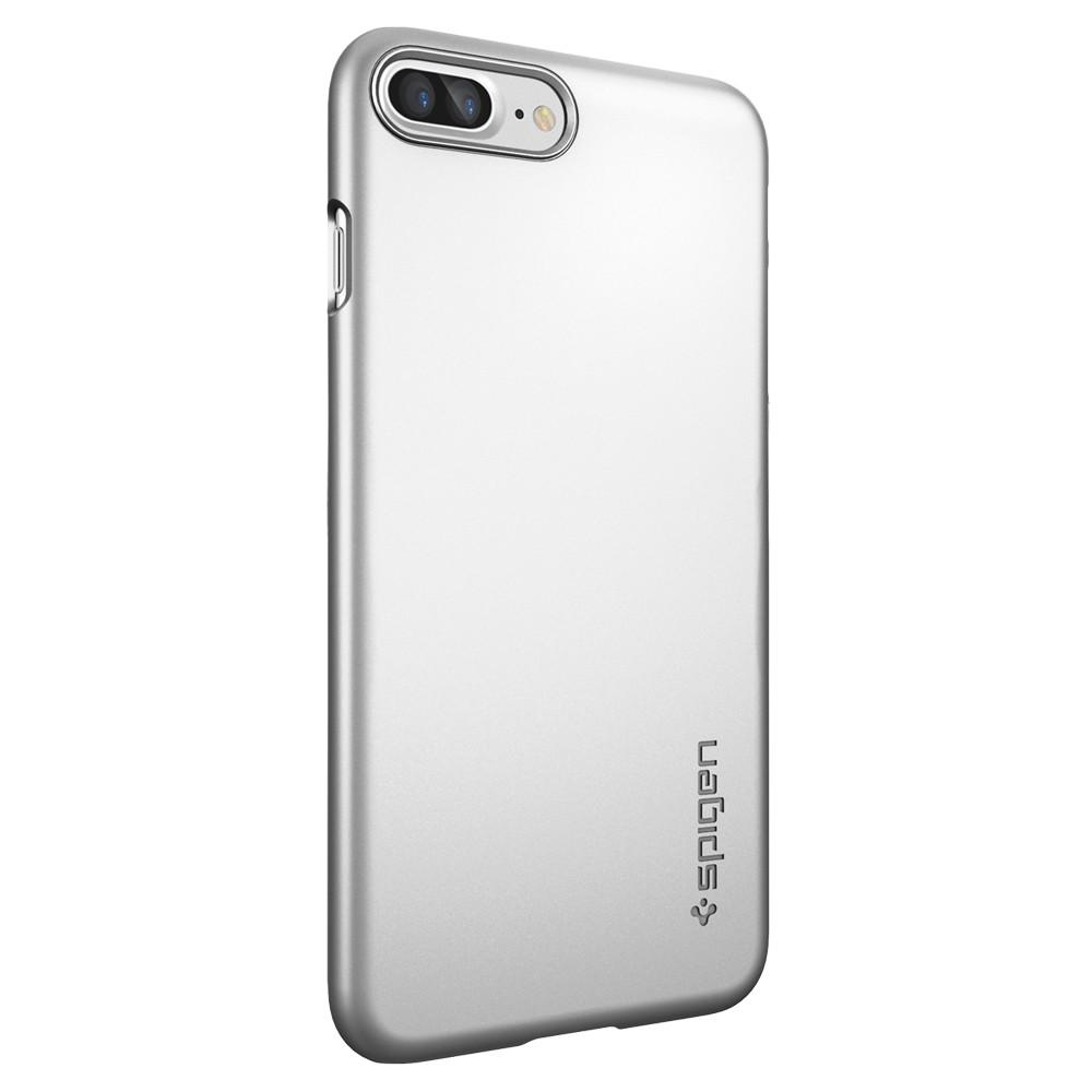 Ochranný obal SPIGEN Thin Fit pro Apple iPhone 8 Plus / 7 Plus - Satin Silver