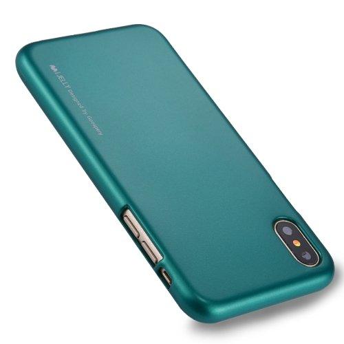 Pouzdro GOOSPERY Mercury iJELLY iPhone X Zelené