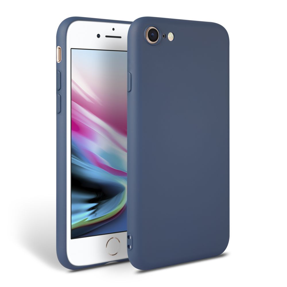 Pouzdro Tech-Protect Icon iPhone 7/8/SE 2020 - Modrý