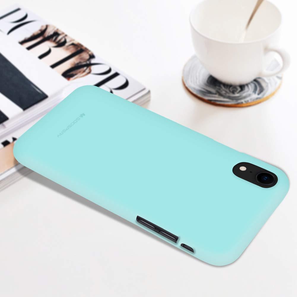 Pouzdro Mercury Soft Feeling iPhone XR - Mint