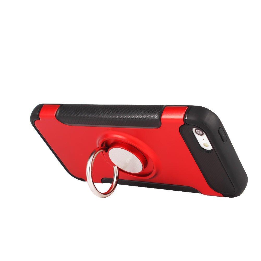 Pouzdro iMore Magneto na Apple iPhone SE/5s/5 - Červené