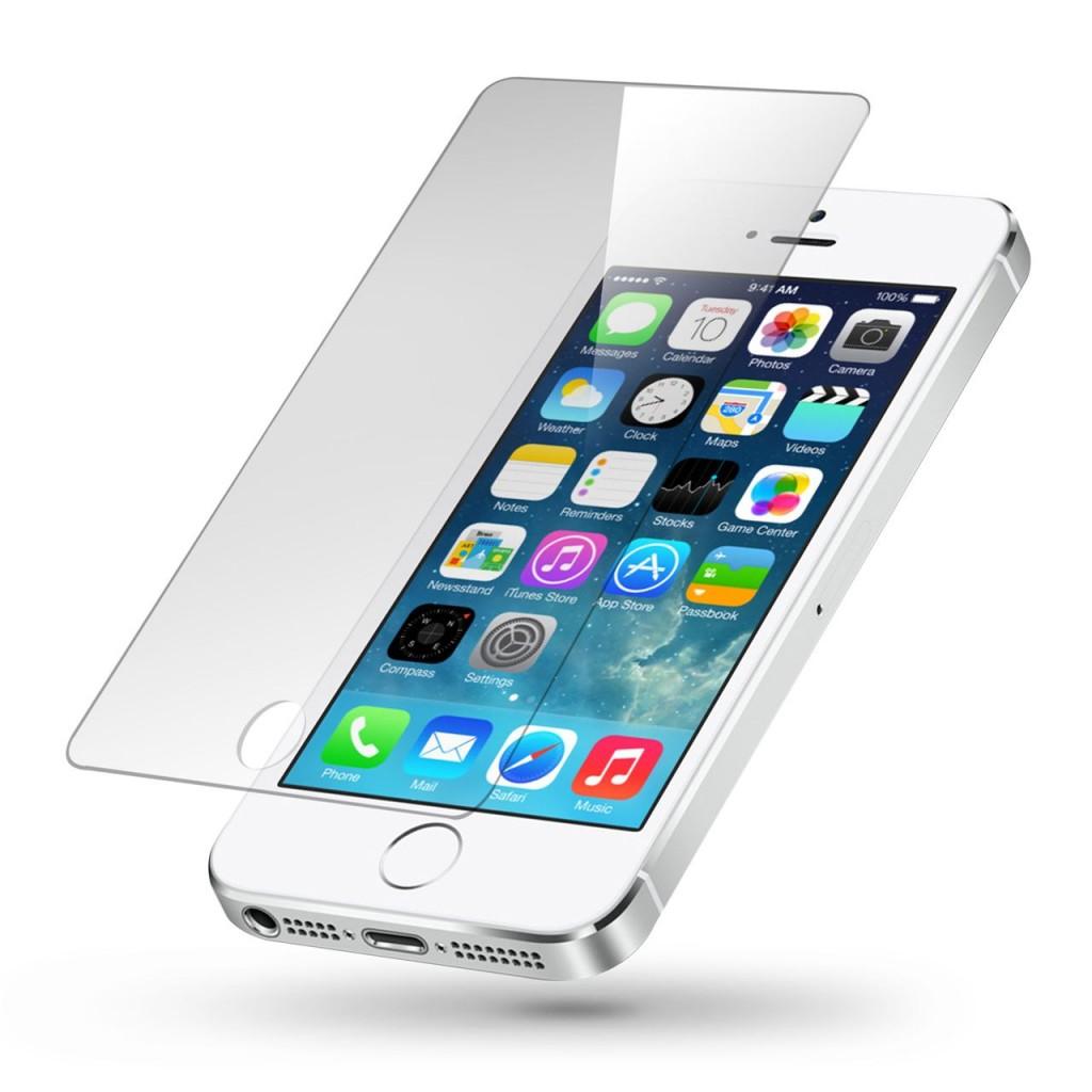 Tvrzené sklo PRO+ na displej pro iPhone 5s / 5c / 5