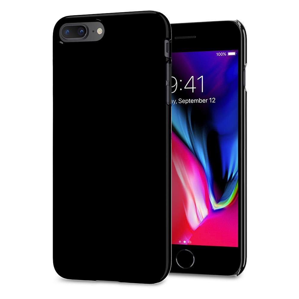 Ochranný obal SPIGEN Thin Fit pro Apple iPhone 8 Plus / 7 Plus - Jet Black