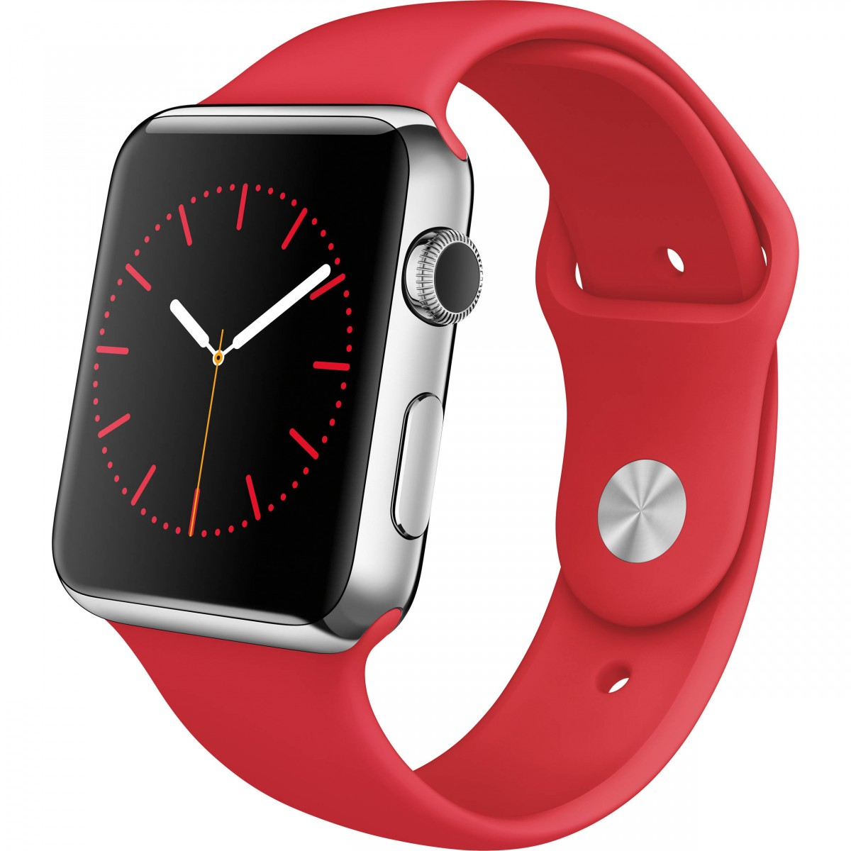 Řemínek SmoothBand pro Apple Watch Series 4 (44mm) - Červený 72e2fe3590f