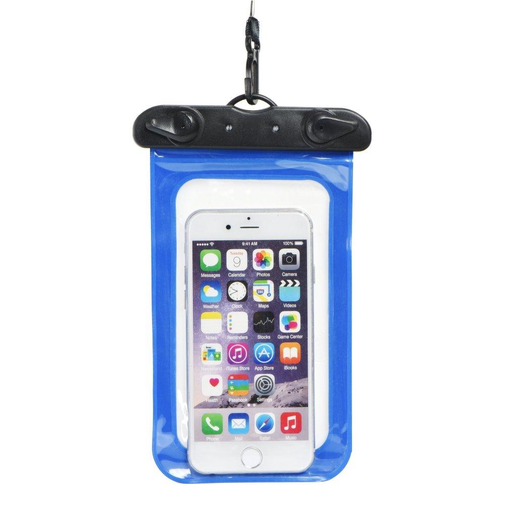 Pouzdro SES Univerzální vodotěsné Apple iPhone 6 7 8 X XS - Modré