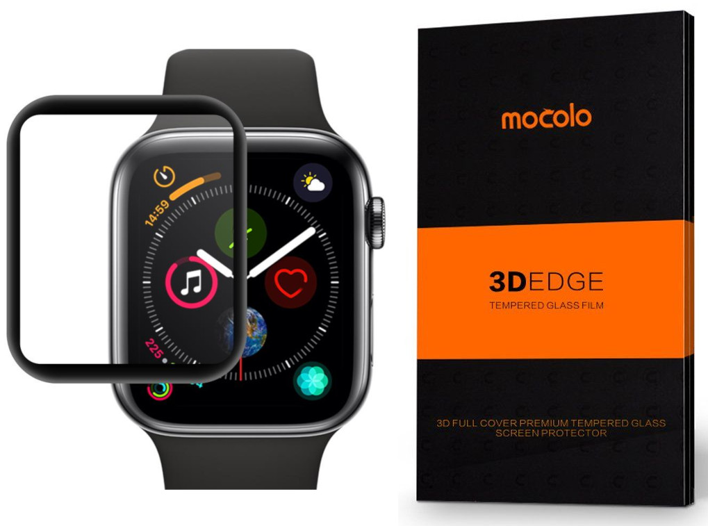 Tvrzené sklo Mocolo TG+ 3D na Apple Watch Series 4 (44mm) PG3664