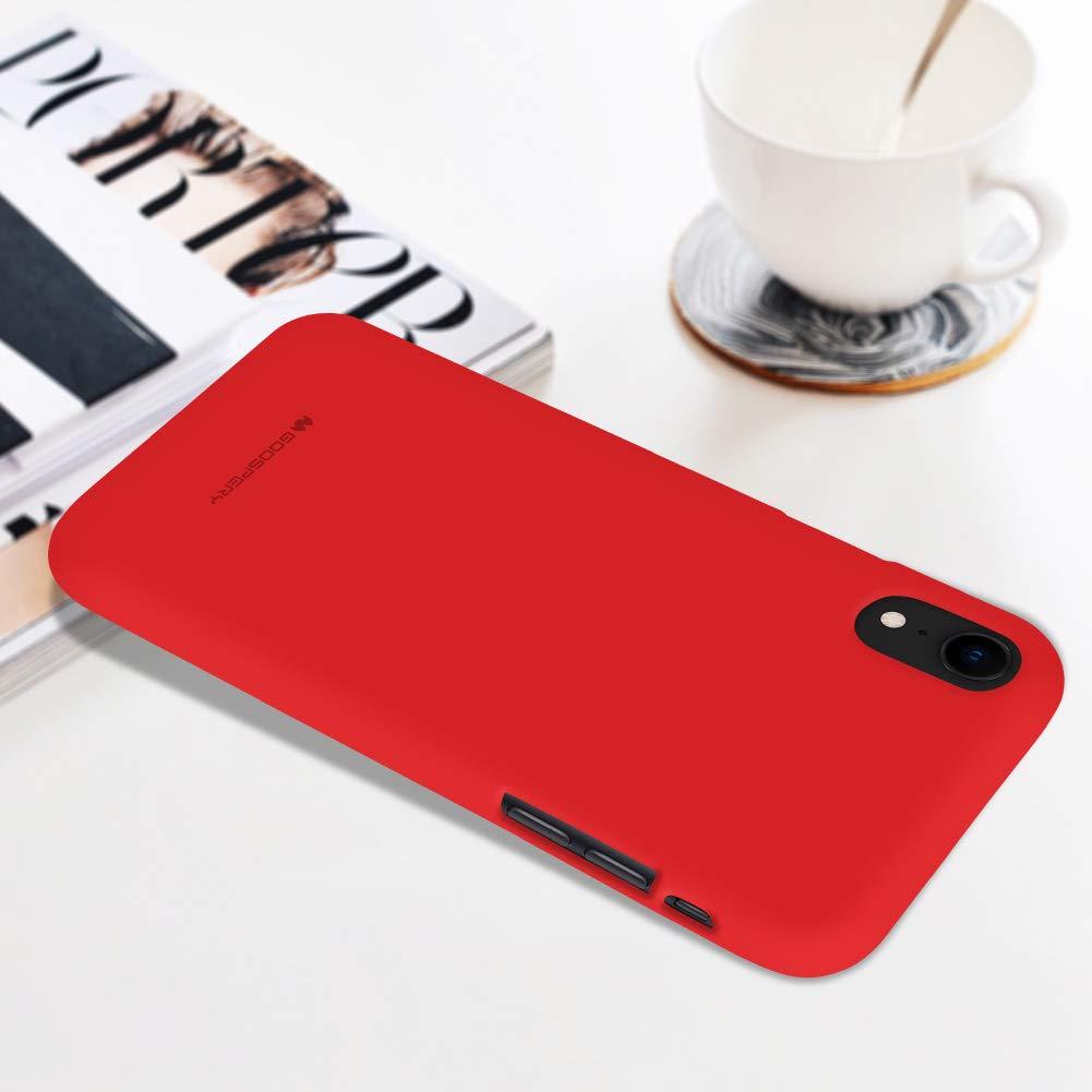 Pouzdro Mercury Soft Feeling iPhone XR - Červený